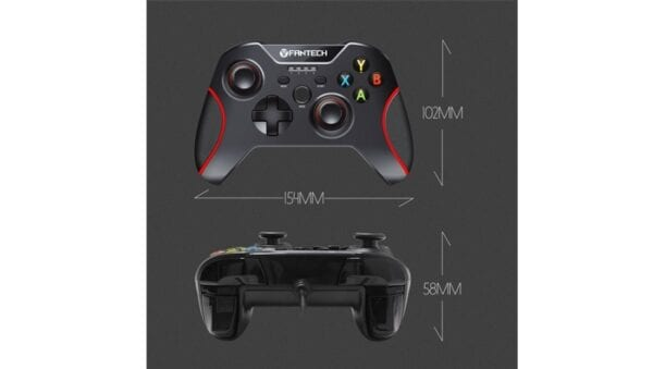 Control Gamer Fantech GP11 Shooter PC, Wired, Red